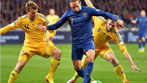 Ukraine v France world cup-2014
