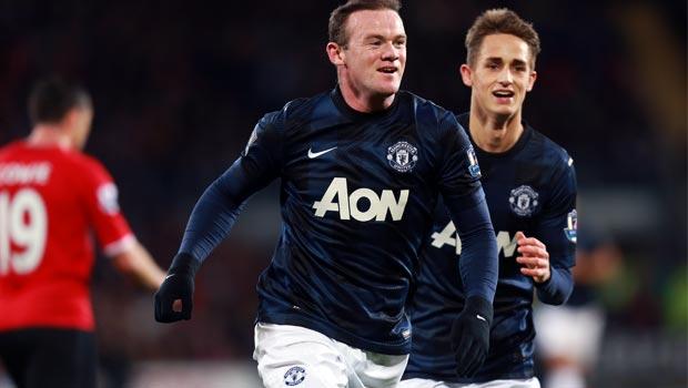 Wayne Rooney manchester  United 2013