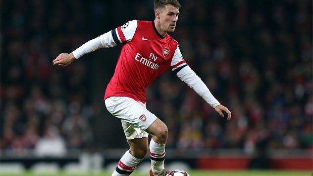 Aaron Ramsey Arsenal midfielder