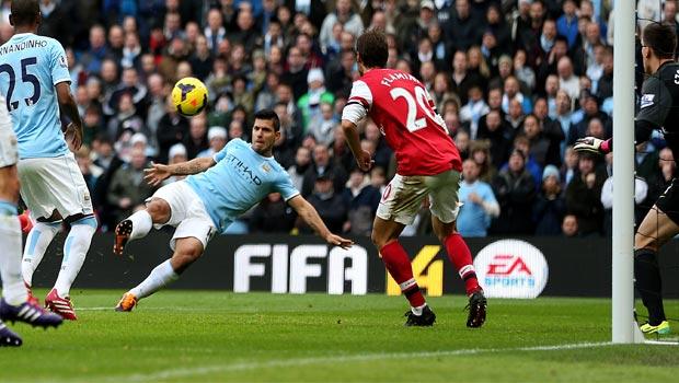 Arsenal v Man City premeir league