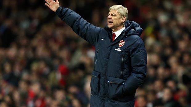 Arsene Wenger Arsenal boss champions league