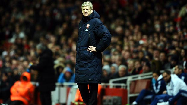 Arsene Wenger arsenal boss 2013