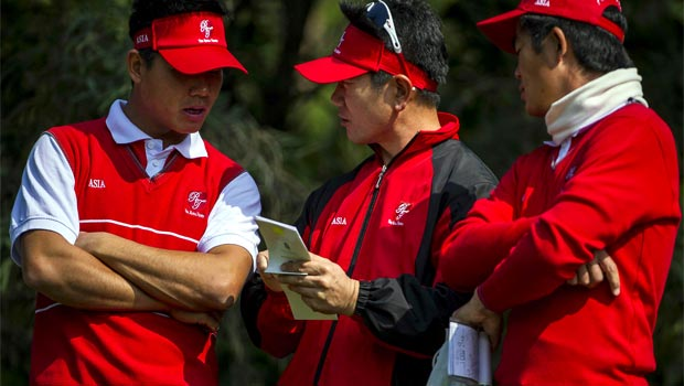 Asia golf team