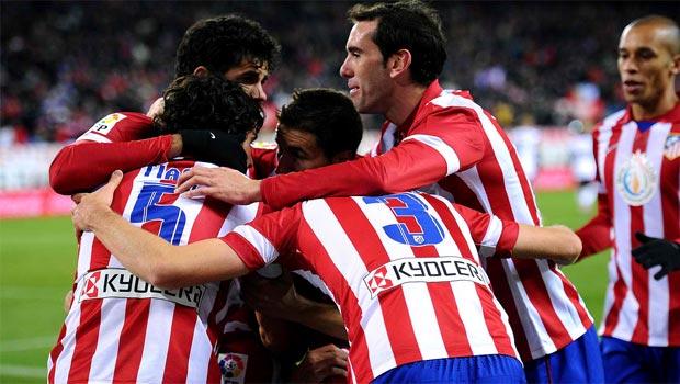 Atletico Madrid on top La Liga