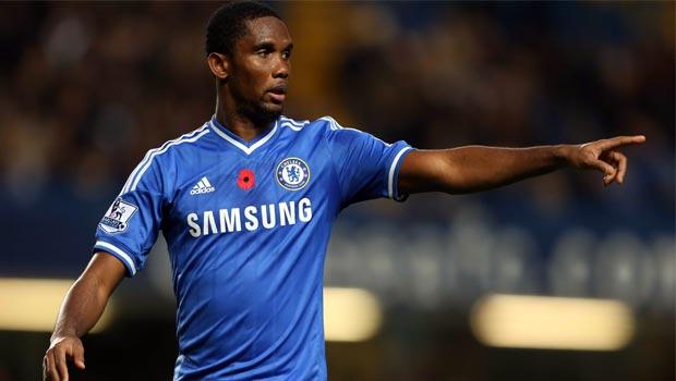 Chelsea striker Samuel Etoo
