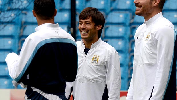 David Silva Manchester City is back