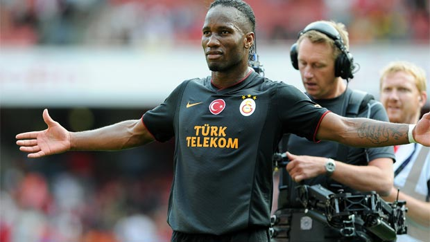 Didier Drogba former Blues striker