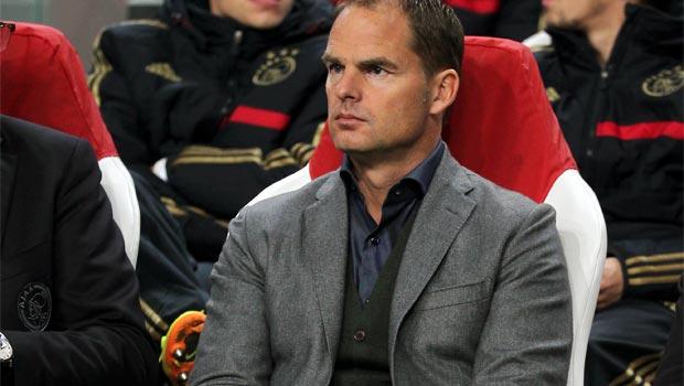 Frank De Boer Ajax boss
