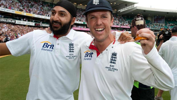 Graeme Swann and Monty Panesar england cricket