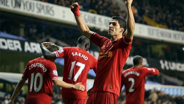 Luis Suarez Liverpool Striker