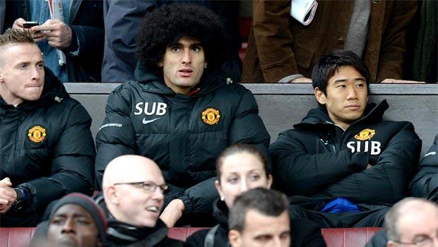 Marouane Fellaini Manchester United midfielder