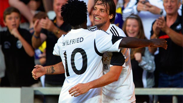 Michu and Wilfried Bony swansea striker duo