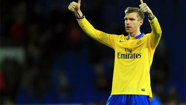Per Mertesacker Arsenal defender