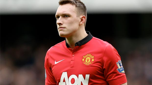 Phil Jones Man United