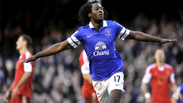 Romelu Lukaku Everton Striker