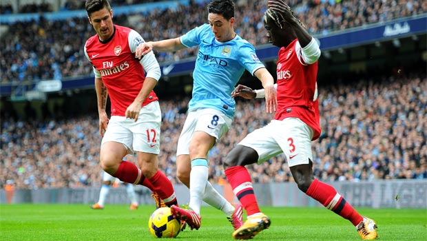 Samir Nasri Manchester City away form to improve