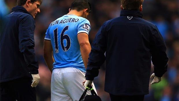 Sergio Aguero Manchester City striker