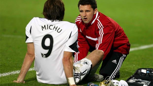 Swansea striker Michu