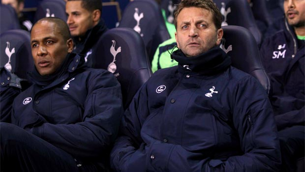 Tim Sherwood new manager tottenham Hotspurs