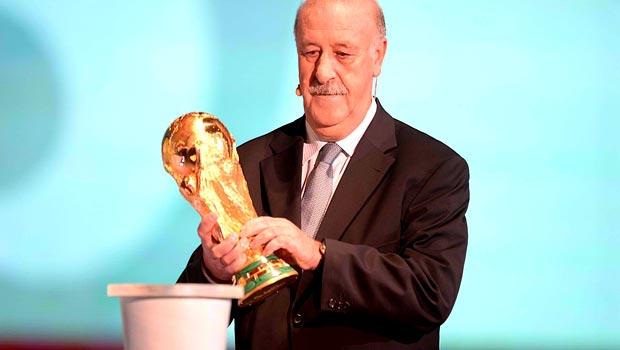 Vicente del Bosque Spain boss