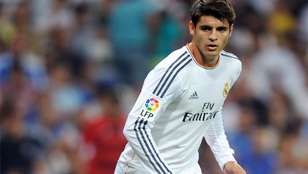 Alvaro Morata Real Madrid forward