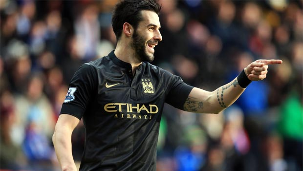 Alvaro Negredo Man City