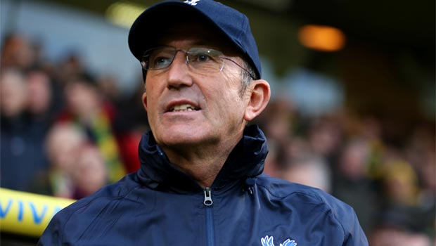 Crystal Palace boss Tony Pulis