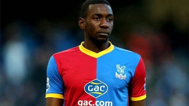 Crystal Palace midfielder Yannick Bolasie