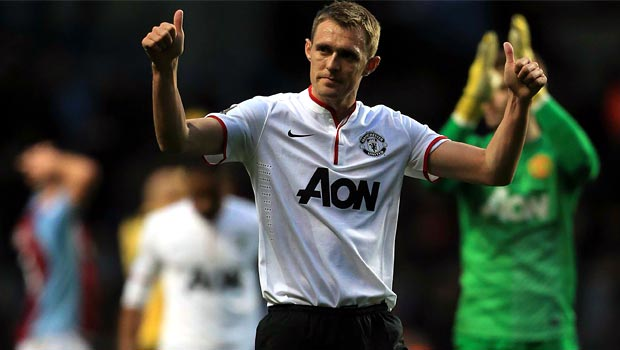 Darren Fletcher Man United