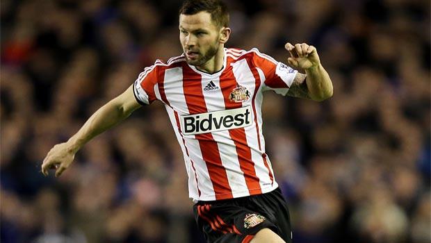 Defender Phil Bardsley Sunderland