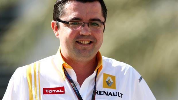Eric Boullier Racing Director McLaren