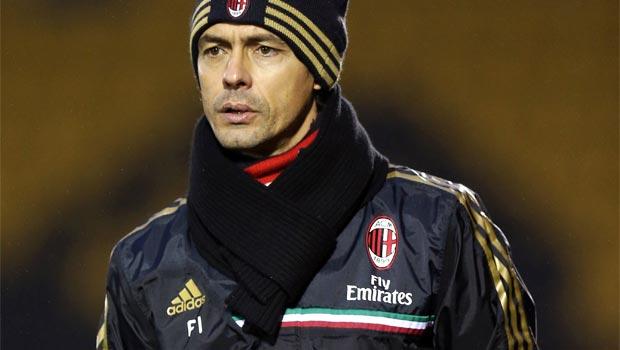 Filippo Inzaghi coach AC Milan