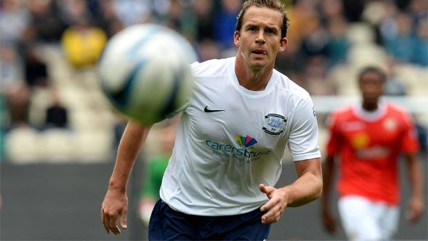 Kevin Davies Preston North End striker