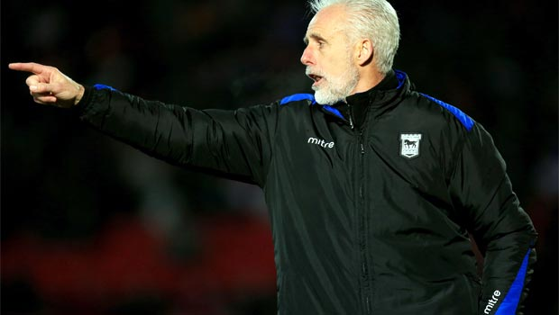 Mick McCarthy Ipswich Town manager