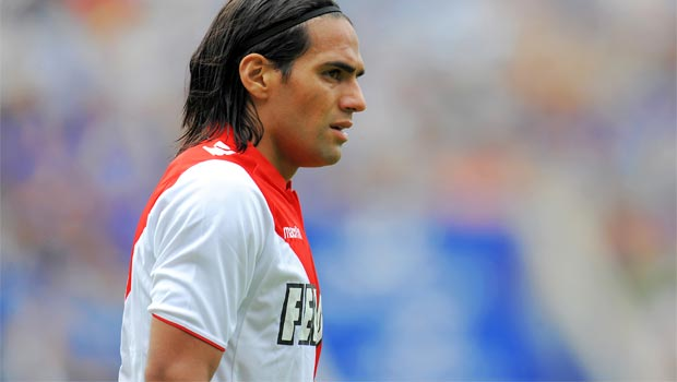 Monaco forward Radamel Falcao