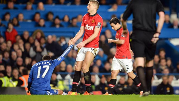Nemanja Vidic Manchester United captain