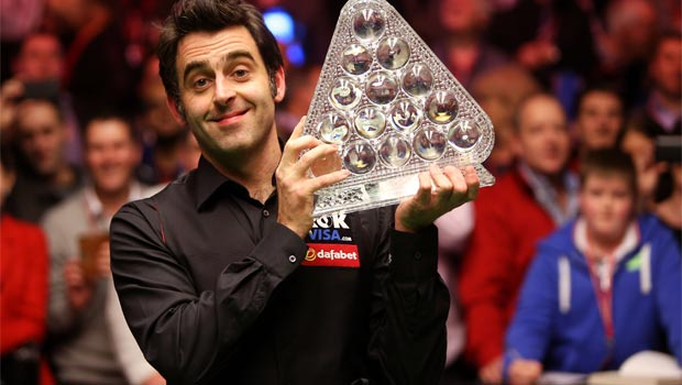 Ronnie O'Sullivan Dafabet Masters Champion