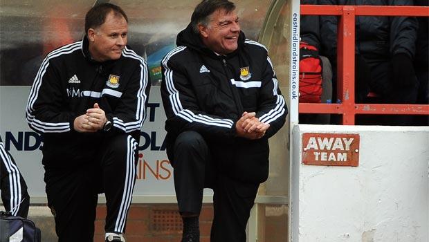 Sam Allardyce West Ham coach FA Cup