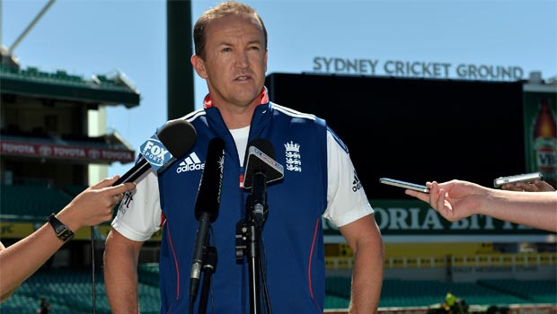 Team Director Andy Flower England