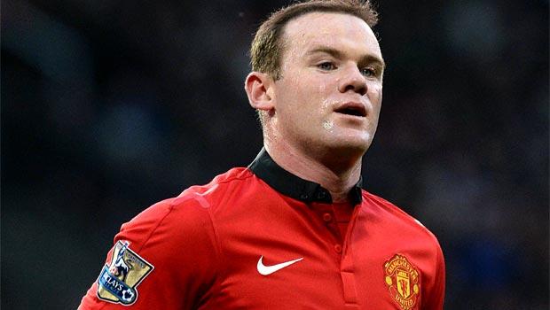 Wayne Rooney Man United Striker