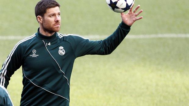 Xabi Alonso Midfielder Real Madrid