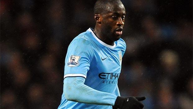 Yaya Toure Manchester City midfielder