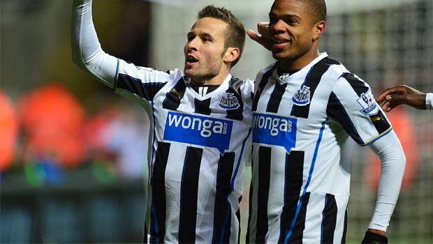 midfield Yohan Cabaye Newcastle United