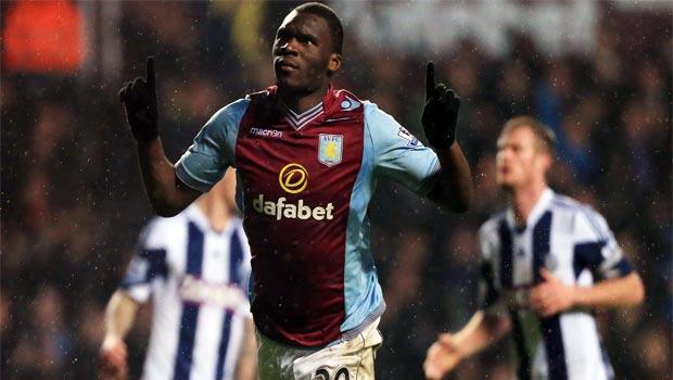 striker Christian Benteke aston villa