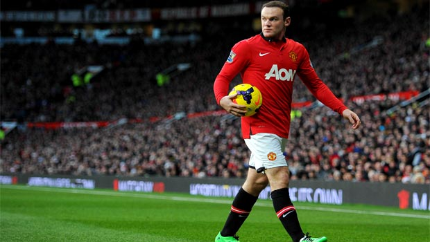 striker Wayne Rooney Man united