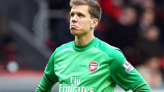 Arsenal keeper Wojciech Szczesny