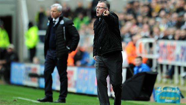 Aston Villa boss Paul Lambert premier league