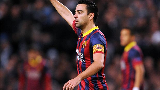 Barcelona midfield playmaker Xavi