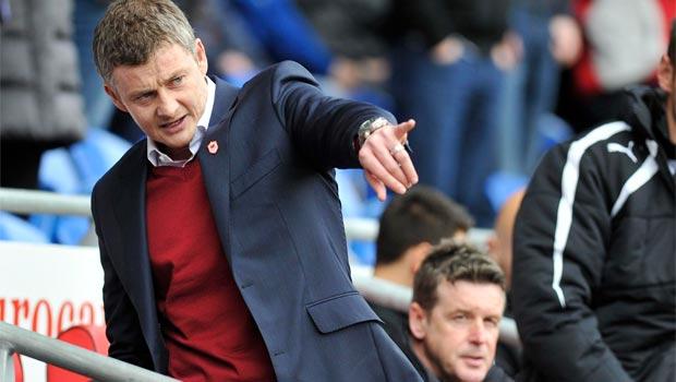 Cardiff City boss Ole Gunnar Solskjaer 2014