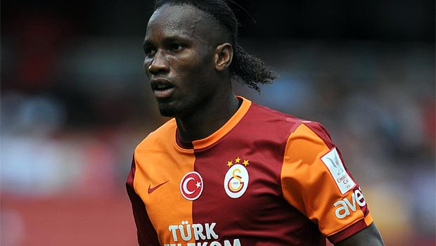 Didier Drogba Galatasaray striker